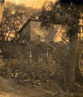 Wadsworth-Longfellow House backyard, ca. 1880