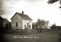 Post Office, Whitneyville, ca. 1915