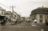 Main Street, Machias, ca. 1920