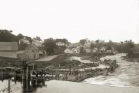 View of East Machias, ca. 1910