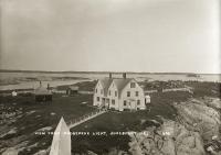 View from Moosepeak Light, Jonesport, ca. 1920