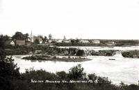View from Monaghan Hill, Whitneyville, ca. 1915