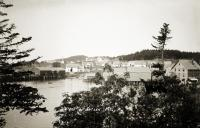 View of Cutler waterfront, ca. 1910