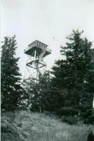 Garland Fire Tower on High Cut Hill, ca. 1950