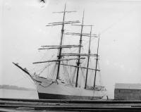 Sailing vessel OLYMPIC, Bath, 1892