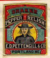 E.D. Pettengill Company Trademark for Shaker Pepper Relish