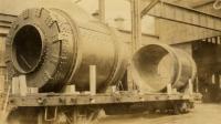 Debarking drums, Portland Company, ca. 1920
