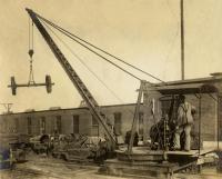 Portland Company traveling crane