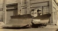 Cletrac 10-ton plow, Portland Company, ca. 1920