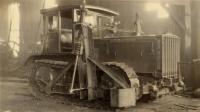 Mead-Morrison tractor, Portland Company, ca. 1920