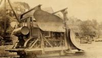 10-ton Sargent plow, Portland Company, ca. 1920