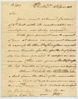 Copy of thank you letter, Peleg Wadsworth to Tobias Lear