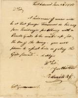 Benedict Arnold letter, June 24, 1776