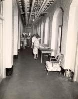 Maine General Hospital sewing room, Portland, ca. 1940