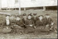 Maying party, Skowhegan, 1894
