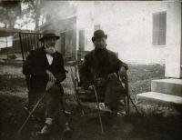 Two old pals, Skowhegan, ca. 1880