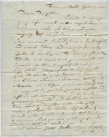 Ellis B. Usher to daughter Rebecca, Quebec, 1841