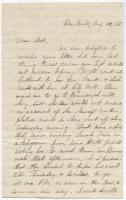 Rebecca Usher on Grant and Chamberlain, Bar Mills, 1865