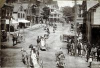 Madison Avenue, Looking North, Skowhegan, ca. 1900
