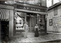 A. F. Dyer Store, Skowhegan, ca. 1885