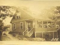 Whitney property, S. Side Church Avenue, N. Side D Street, Peaks Island, Portland, 1924