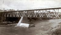 Railroad Bridge, Skowhegan, ca. 1890