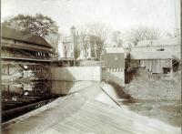 South Channel Dam, Skowhegan, ca. 1900