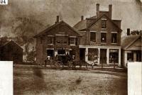 Southerly Side of Water Street, about 1860