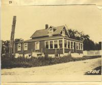 Littlefield property, S. Side A Street, N. Side Willow Street, Peaks Island, Portland, 1924