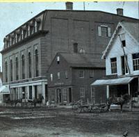 Water Street, Skowhegan, ca. 1870