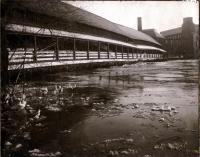 South Channel Bridge, Skowhegan, 1901