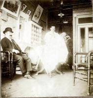 Barber shop in Hotel Coburn, Skowhegan, ca. 1900