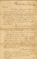 Letter from Benedict Arnold to Samuel Chace
