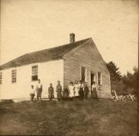 No. 4 schoolhouse, Lovell, ca. 1890