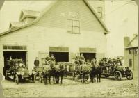 Penobscot Avenue Fire Station, Millinocket, ca. 1915