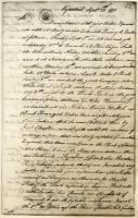 Reuben Colburn letter about Benedict Arnold march, 1775
