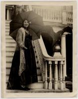 Woman in costume, Montpelier, Thomaston, 1931