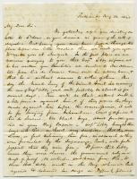 Letter to George Richardson from Fessenden & Deblois, 1845