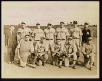 Cabot Mill baseball team, Brunswick, ca. 1930