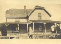 Meserve property, North Side Fern Avenue, Long Island, Portland, 1924