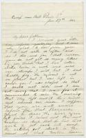 Letter from John Sheahan to his father, Jan. 29, 1863