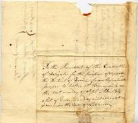 Lebanon voting record for separation from Massachusetts, 1816