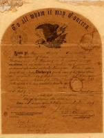 Discharge of James Lawrence, Sept. 20, 1865