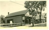Lane's Shoe Store, Main Street, Bridgton, ca. 1938