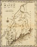 Maine, from the United States Gazetteer,1795