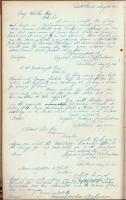 Copy of letter from Joshua Richardson to Benjamin Walker, 1840