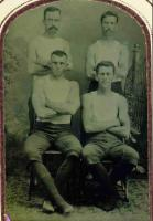 The Four Franks, Bowdoin College, 1885