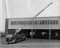 1949 aerial ladder truck, Presque Isle