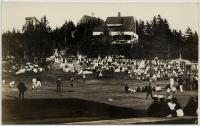 Baseball game, Squirrel Island, early 1900s