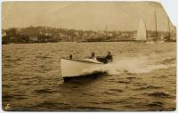 Cruising in Boothbay Harbor, 1912